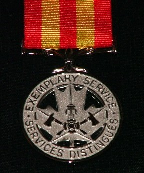 Fire Servcies Exemplary service Medal (Federal)