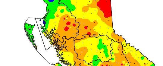 A thumbnail of a Fire Danger Rating Map.