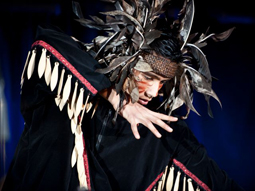 Aboriginal dancer at Canada Winter Games