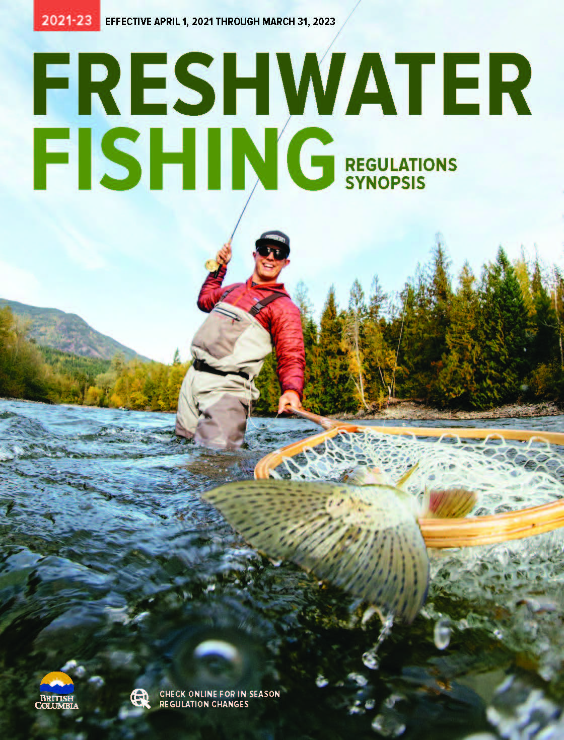 Freshwater Fishing Regulations In Bc Province Of British Columbia