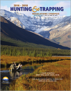 Hunting trapping regulations synopsis province of for British columbia fishing license